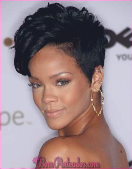 20 penteados naturais para cabelos curtos