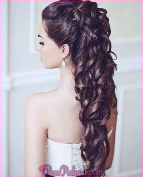 15 Penteados Encaracolados De Casamento Diferentes