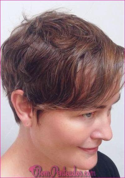 15 penteados e cortes de cabelo curtos mais modernos
