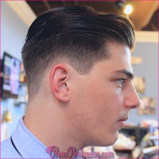 Penteados Pompadour para homens