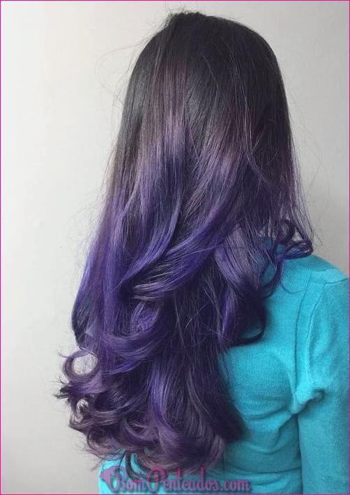 15 soluções para cabelos pretos ombre