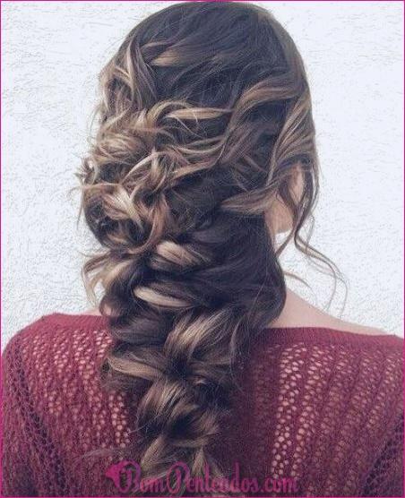 Melhores 15 Penteados Chic Festivo