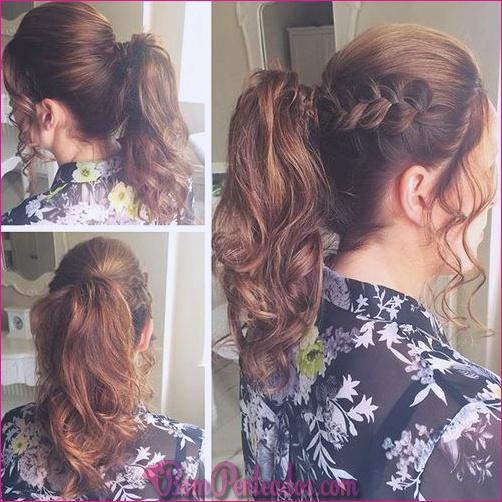 15 penteados de rabo de cavalo ondulado