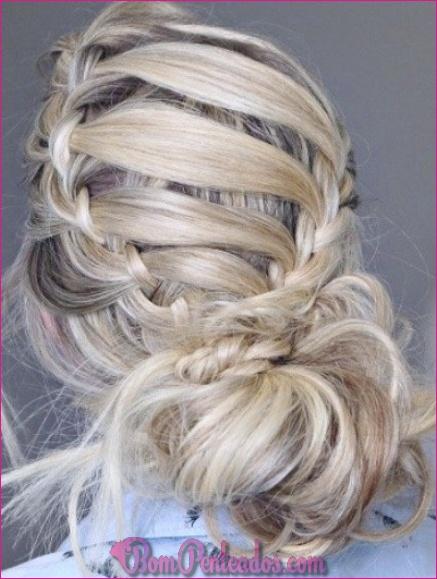 20 Últimos penteados com pente baixo