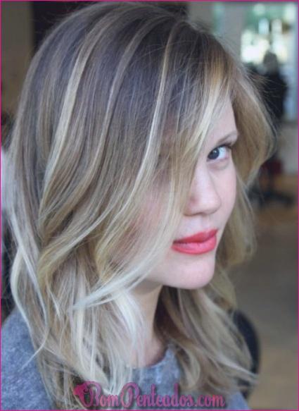 15 ideias para cabelos loiros Ash Ombre e cabelos Ombre Prateados