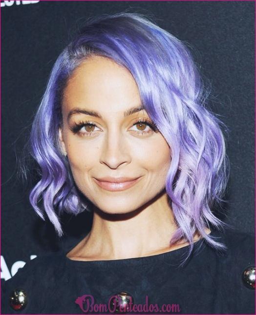 25 inspirando penteados ondulados curtos