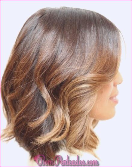 20 penteados curtos em camadas