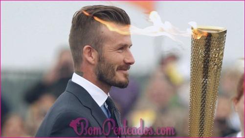 15 idéias de penteados de David Beckham