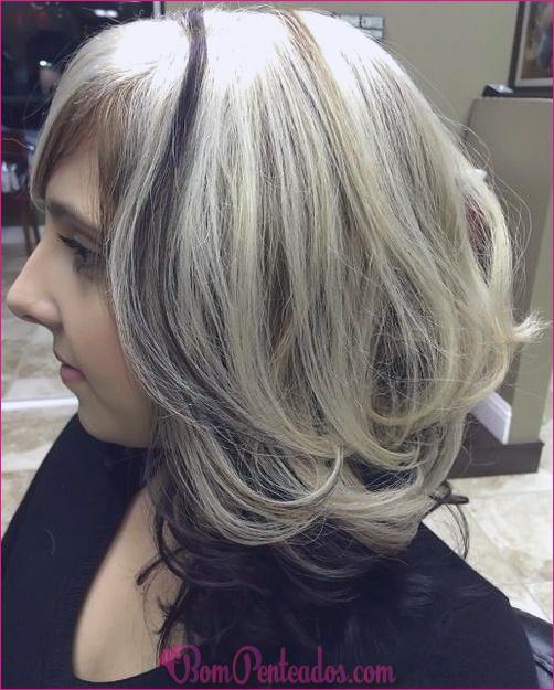 20 melhores idéias de cores de cabelo para destaques robusto
