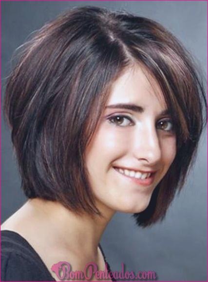 20 penteados curtos para cabelos grossos