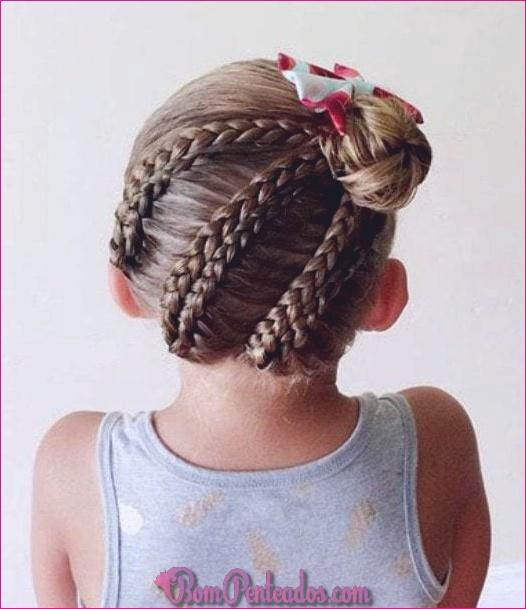 20 penteados atrevidos para as meninas