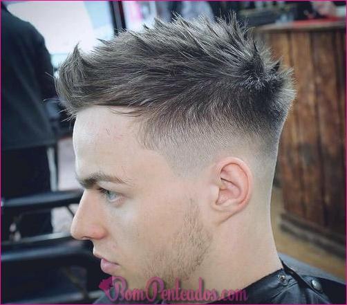15 penteados espetados para homens