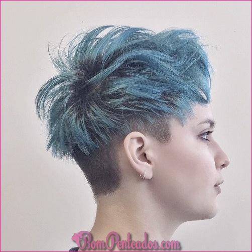 20 penteados curtos e cortes de cabelo
