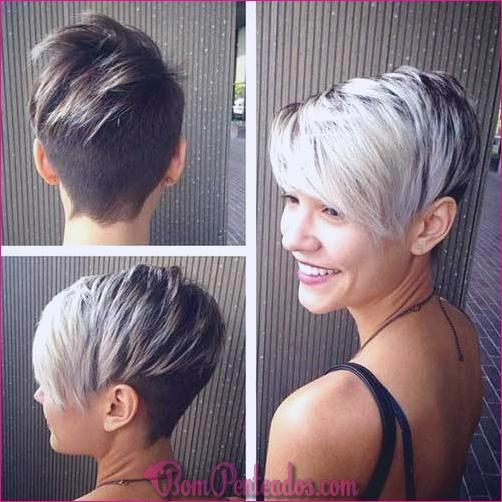 20 cortes de cabelo curtos espetados para mulheres