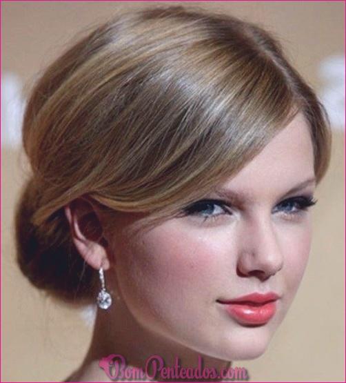 20 updos simples para cabelos longos