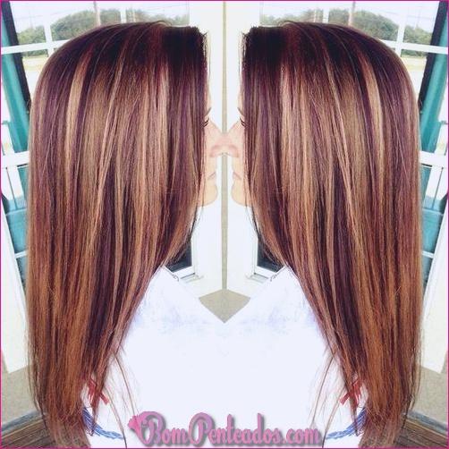 20 idéias de cor de cabelo ruivo glamourosa