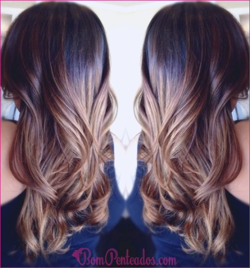 15 penteados macios Ombre