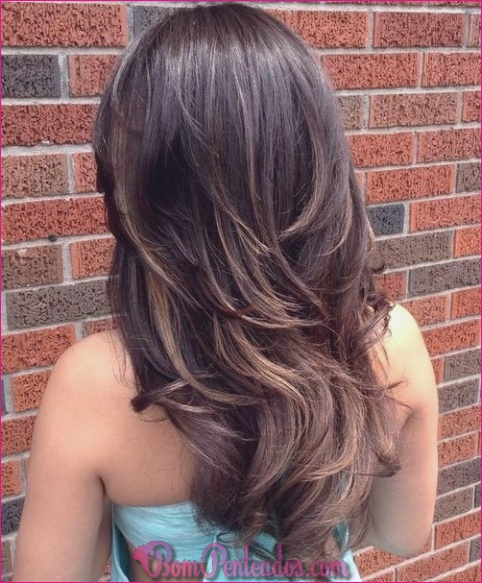 20 soberbas penteados em camadas para cabelos longos
