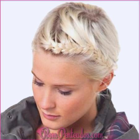 20 diferentes penteados de banda de cabeça trançada