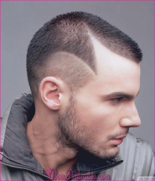Top penteados elegantes do punk para homens