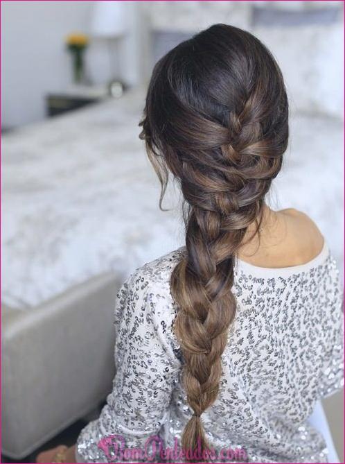 15 penteados de trança francesa Casual