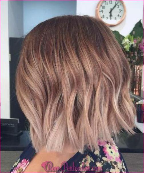 15 melhores idéias de cabelo curto Ombre para fechaduras cortadas