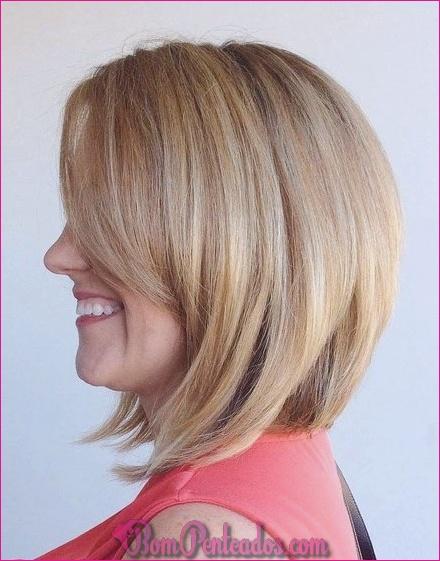 15 elegantes penteados de linha A Bob