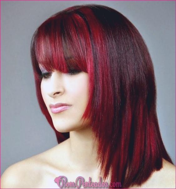 20 ideias de cor de cabelo loiro Ombre (cabelo vermelho, castanho e preto)