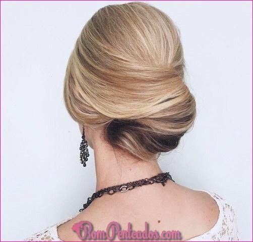 Penteados elegantes para convidados do casamento