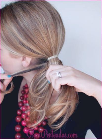 Como fazer penteado trança Fishtail?