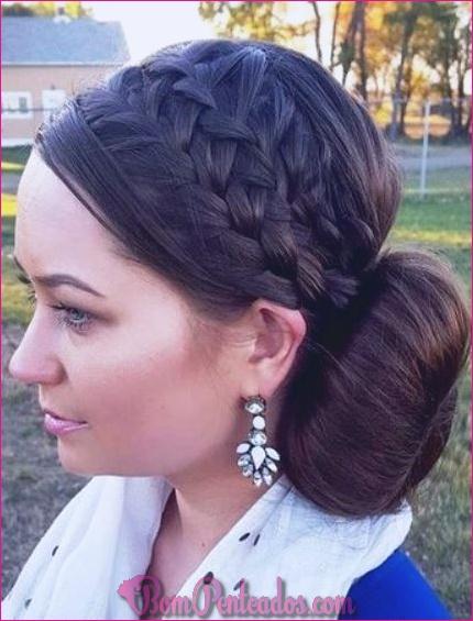 15 diferentes penteados de trança francesa