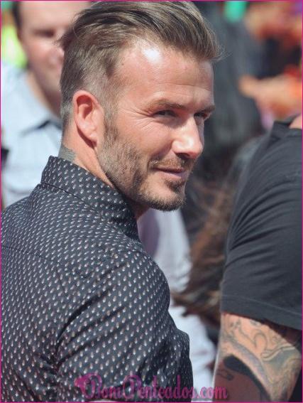 15 melhores cortes de David Beckham