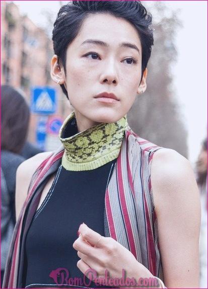 15 penteados asiáticos hipnotizantes
