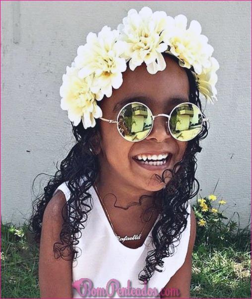 15 penteados bonitos para meninas negras