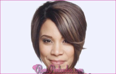 20 cortes de cabelo simples para rostos redondos