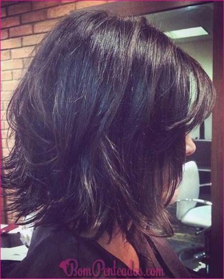 20 penteados bagunçados Bob