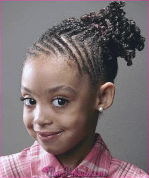 20 cornrows simples para crianças (cornrows tranças)