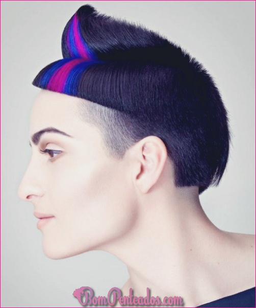 20 penteados de punk para mulheres
