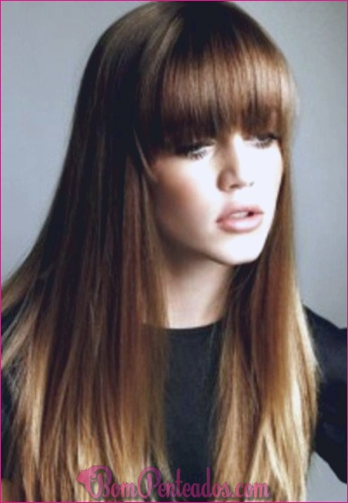 Idéias de cabelo marrom na moda Ombre