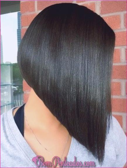20 cortes de cabelo angulados de Bob