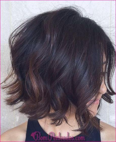 15 penteados médios Bob