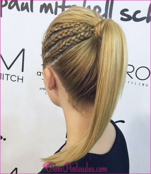20 penteados da moda e cortes de cabelo para meninas adolescentes