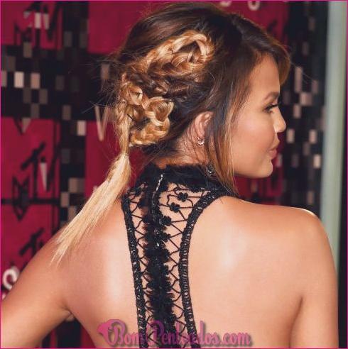 15 penteados trançados Voguish