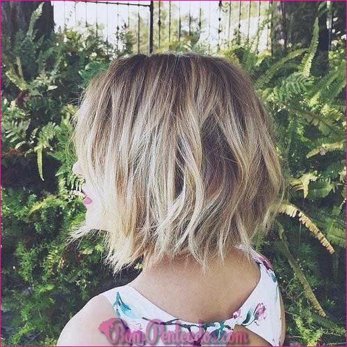 15 cortes de cabelo curtos em camadas