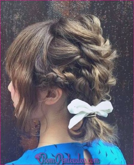 15 tranças legal para cabelo curto