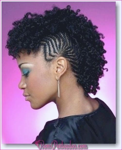20 penteados extravagantes da torção para o cabelo natural