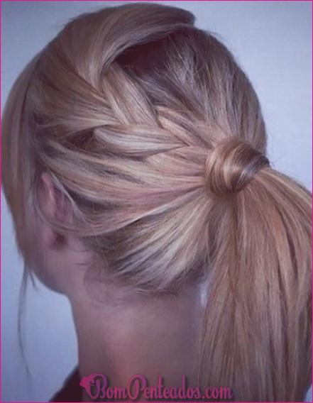 15 penteados fáceis de voltar à escola