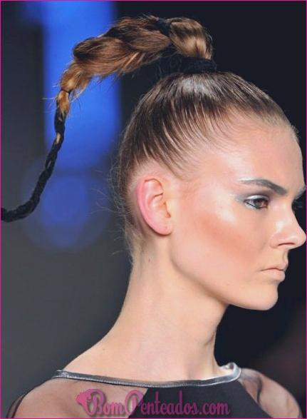15 penteados funky para meninas