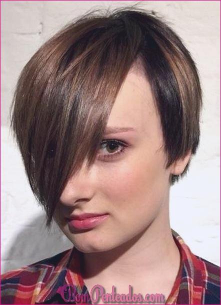 15 requintados penteados longos Pixie