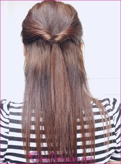 15 penteados doces e bonitos para a escola